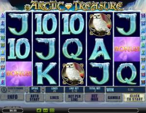 игровой автомат Арктические сокровища